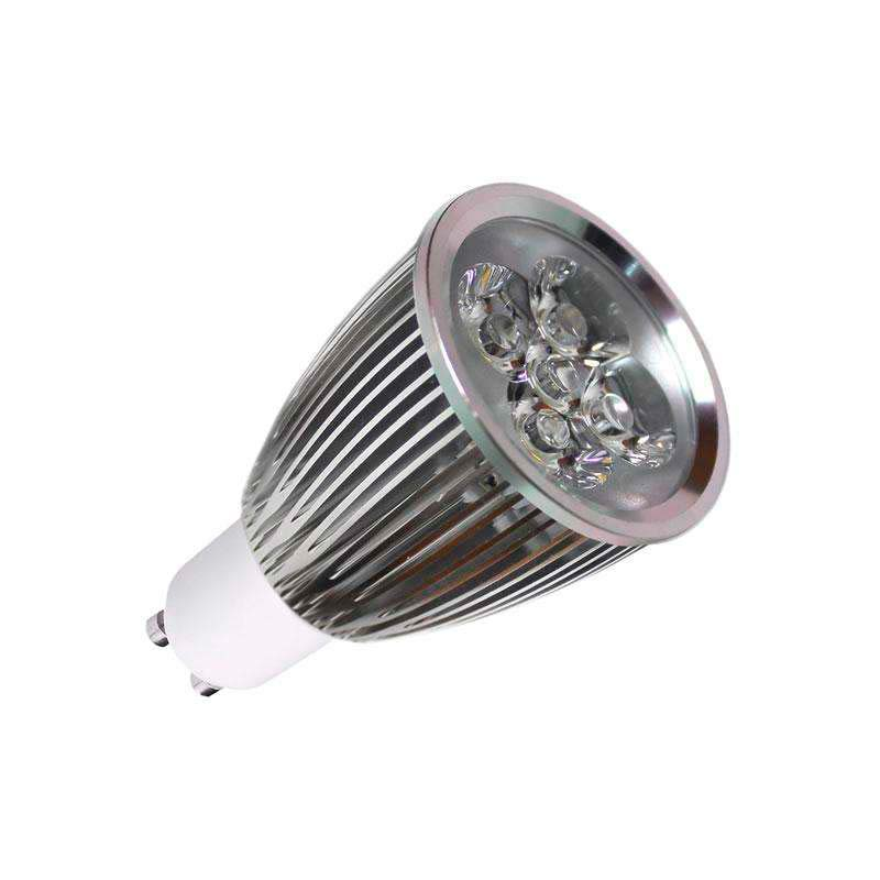 Bombilla LED GU10 6W,  high power, Regulable, Blanco frío, Regulable